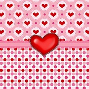 Hearts Digital Art - Heart Surprise by Debra  Miller