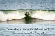 Terry DeLuco - Heart Wave Seaside NJ Jersey Girl Quote