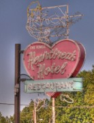 Graceland Art - Heartbreak Hotel by David Bearden
