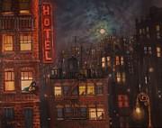 Heartbreak Hotel Print by Tom Shropshire