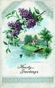 Hearty Paintings - Hearty Greetings by Olde Time  Mercantile