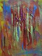Textured Paintings - Heat of the Moment by Karen Butscha