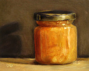 Lebensmittel Prints - Heather Honey 1 Print by Ulrike Miesen-Schuermann