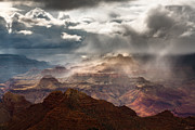 Monsoon Framed Prints - Heaven and Earth Framed Print by Adam  Schallau