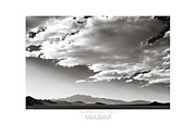 Dry Lake Posters - Heaven and Speed III Poster by Holly Martin