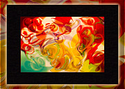 Counterculture Framed Prints - Heaven Conquers Hell an Abstract Adventure Framed Print by Omaste Witkowski