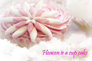Heaven Is A Cupcake Print by Terri  Waters