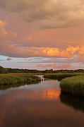 Storm Clouds Cape Cod Framed Prints - Heaven on Earth Framed Print by Juergen Roth