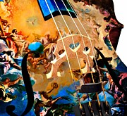 Violin Digital Art - Heavenly Bridge by Jared Johnson