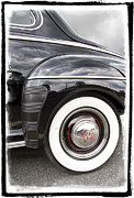 Antique Automobiles Framed Prints - Heavenly Ford Framed Print by Debra and Dave Vanderlaan