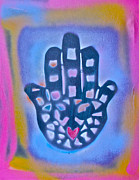 First Amendment Painting Prints - Heavenly Hamza 1 Print by Tony B Conscious
