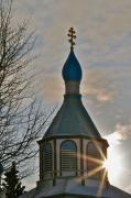 Onion Dome Prints - Heavenly Light Print by Rick  Monyahan