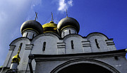 Religious Structure Prints - Heavenly Look - Moscow - Russia Print by Madeline Ellis