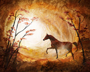 Horse Images Posters - Heavenly Poster by Melinda Hughes-Berland