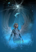 Heavenly Messenger Print by Shadowlea Is