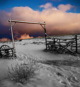 Fence Photos - Heavens gate by Wesley Hahn