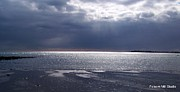 Beach Photograph Prints - Heavens Open To Shine Upon The Sea Print by Eunice Miller