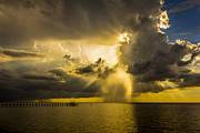 Showers Prints - Heavens Window Print by Marvin Spates
