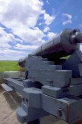 Cannon Prints - Heavy Artillery Print by Jeff Kolker