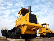 Machinery Photos - Heavy Construction Equipment by Yali Shi