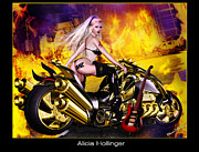 Alicia Hollinger - Heavy Metal Motorcycle...
