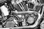 Engine. Bike Prints - Heavy Metal Thunder Print by Scott Norris