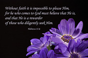 Inspirational  Designs - Hebrews 11 6