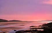 Isle Of Harris Prints - Hebridean Sunset Print by Jacqi Elmslie