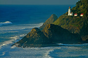 Nick  Boren - Heceta Head Seascape