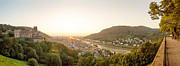 Photografie Prints - Heidelberg Castle Panorama Print by Tony Buchwald