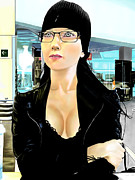 Andrew Harrison Art - Heidi Hinojosa by Andrew Harrison