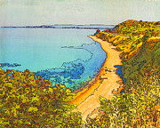 Printmaking Mixed Media - Heights of Gallipoli by Judith Rothenstein-Putzer