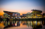 Pittsburgh Pirates Prints - Heinz Field Print by Jimmy Taaffe