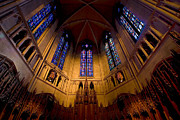 University Of Pittsburgh Framed Prints - Heinz Memorial Chapel Pittsburgh Pennsylvania Framed Print by Amy Cicconi