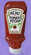 Heinz Paintings - Heinz Tomato Ketchup by Bav Patel