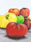 June Holwell - Heirloom Tomatoes