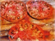 Heirlooms With Salt And Pepper Print by Michelle Calkins