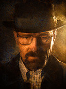 Breaking Framed Prints - Heisenberg Framed Print by Ian Hufton