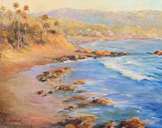 Heisler Park Paintings - Heisler park  by Anita HartCarroll