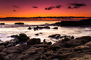 Heisler Park Framed Prints - Heisler Park Sunset Framed Print by Dave  Muesbeck