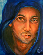 Jesus Art Paintings - Held in His Gaze by Carol Sheli Cantrell