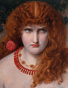 Scowl Prints - Helen of Troy Print by Anthony Frederick Augustus Sandys