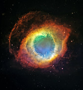 Heavens Prints - Helix Nebula 2 Print by The  Vault - Jennifer Rondinelli Reilly