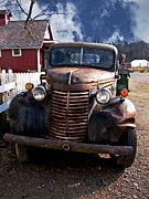 Chevy Truck Prints - Hell on Wheels Print by Colleen Kammerer