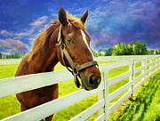 Painterly Photos - Hello From the Bluegrass State by Darren Fisher