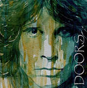 Jim Morrison Framed Prints - Hello I Love You Framed Print by Paul Lovering