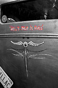 Paul Wash Art - Hells Only 1/2 Full by Paul Wash