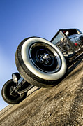Rat Rod Prints - Helltrain- Zane Cox Print by Holly Martin