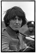 60s Music Photos - HELP Beatles George Harrison by Emilio Lari