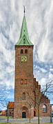 Danish Photos - Helsingor church 01 by Antony McAulay